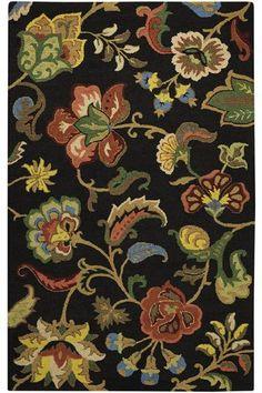 Chintz Area Rug - Wool Rugs - Area Rugs - Rugs | HomeDecorators.com