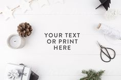 Styled stock photography - Christmas by White Hart Design Co. on @creativemarket