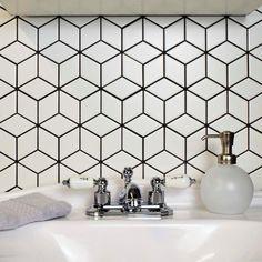 Merola Tile Metro Rhombus Matte White 10-1/2 in. x 12-1/8 in. x 5 mm Porcelain Mosaic Tile