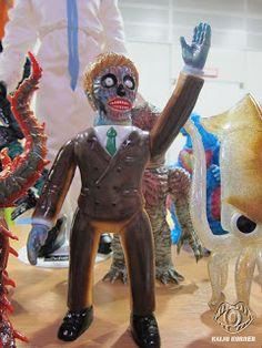 Kaiju Korner: Design Festa 60 Part 1: Indie Toys