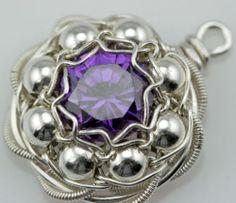 Handmade Art Charm by Perri Jackson 100 Donated to Beads of Courage | eBay - current bid USD 46