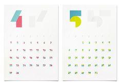 2012 Origianl Calendar on Behance