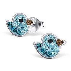 www.bfashionista.com beautiful earrings bird