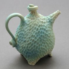 Blue sea teapot by robertapolfus on Etsy that Claire bought.