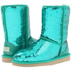 UGG Classic Sparkles ($190) ❤ liked on Polyvore