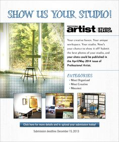 Show us your studio. Art studios