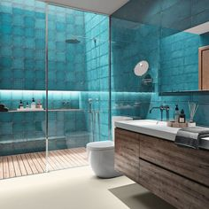 Panorama des nouveaux carrelages de salles de bains - Côté Maison