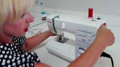 KURZY ŠITÍ- jak seřídit stroj a párání overlocku a rovnostehu Textiles, Sewing, Youtube, Facebook, Knitting, Crochet, Videos, Scrappy Quilts, Hand Crafts