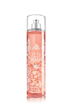 Pretty as a Peach - Fine Fragrance Mist - Signature Collection - Bath & Body Works - Lavishly splash or lightly spritz your favorite fragrance, either way you'll fall in love at first mist! Our carefully crafted bottle and sophisticated pump delivers great coverage while conditioning aloe mist nourishes skin for the lightest, most refreshing way to fragrance!