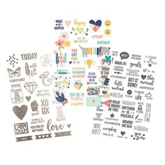 PREORDER  Carpe Diem Posh Designer  Stickers  by PlayingWithColor2