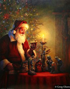 Santa reflects on the true meaning of Christmas.this is the REAL meaning of Christmas! Merry CHRISTmas to all of our family and friends.