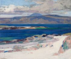 Ben More from Iona, by Francis Campbell Boileau Cadell (1883–1937). Photo credit:  Hunterian Art Gallery, University of Glasgow