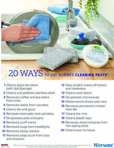 Norwex cleaning tips ideas for 2019 - Spring Break Kids sprin. Norwex Cleaning, Norwex Biz, Oven Cleaning, Diy Cleaning Products, Cleaning Hacks, Norwex Products, Cleaning Crew, Daily Cleaning, Clean Oven Door