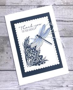 Butterfly Cards, Flower Cards, Stampin Up Anleitung, Stampin Up Catalog, Stamping Up Cards, Sympathy Cards, Greeting Cards Handmade, Scrapbook Cards, Homemade Cards