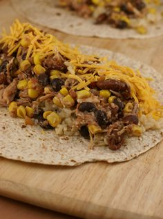 chicken-burritos. pinner said: (I'm adding cilantro to the rice)Ti is very good you have to try it you will love it......
