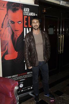 Hugo Silva en el re estreno de 'El intérprete' en Madrid