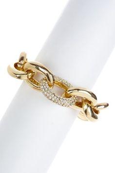 Morgan Ashleigh Crystal Link Bracelet
