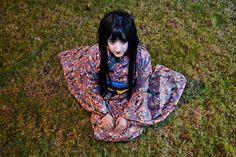 Character: Enma Ai. Anime: Jigoku Shoujo. Cosplayer: Rydia Valentine. Photographer: Mery.