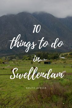 A month or so ago we paid our very first visit to the Overberg town of Swellendam and we were blown away by the loveliness of this pretty little town just Oh The Places You'll Go, Cool Places To Visit, Stuff To Do, Things To Do, Cape Town South Africa, Hiking Tips, Africa Travel, Outdoor Life, Trip Advisor