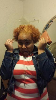 I went blonde