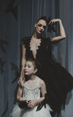 HerCanberra Issue No.2: The World's a Stage. Celebrating 50 years of theatre in the capital. Starring Olivia Baker & Emily Dibden as Odette & Odile from SWAN LAKE.