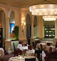 Daniel restaurant in NYC, one of our finest dining experiences.