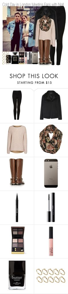 """Cold Day in London Meeting Fans with Niall"" by elise-22 ❤ liked on Polyvore featuring Payne, Topshop, Proenza Schouler, Zadig & Voltaire, Burberry, Stila, shu uemura, Tom Ford, NARS Cosmetics and Jack Black"