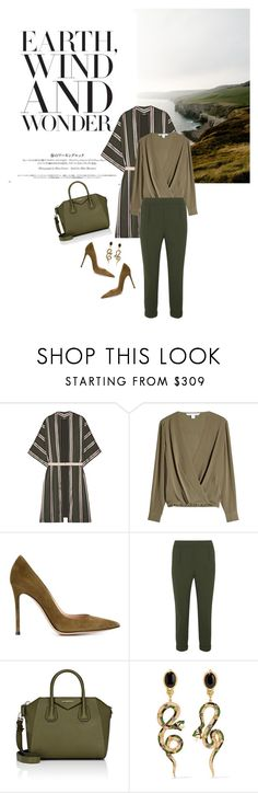 """""""Winter 2016/2017: Trendy and chic"""" by ecletica-and-chic ❤ liked on Polyvore featuring ADAM, Diane Von Furstenberg, Gianvito Rossi, Vince, Givenchy and Diego Percossi Papi"""