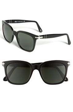 Persol 50mm Square Vintage Sunglasses available at #Nordstrom