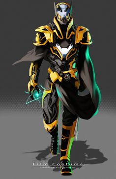 During the revolution on Galyria, Vior proved himself to be a great man, being granted powers by Quirous, he became Vioraan. Takes the place of Crextor in The Elite. Robot Concept Art, Armor Concept, Armadura Ninja, Character Concept, Character Art, Gijinka Pokemon, Arte Robot, Accel World, Futuristic Armour