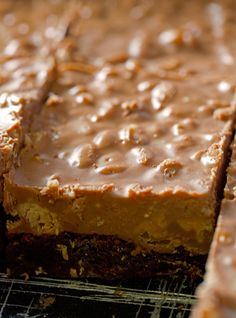 Ingredients 1 box brownies 1/2 cup salted peanuts, chopped 1 cup peanut butter cups, chopped 1 1/2 cup milk chocolate chips 1 1/2 cup creamy...
