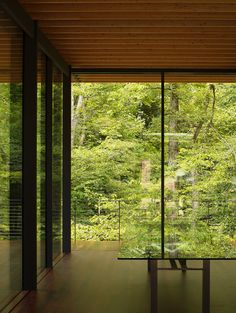 Glass/Wood House by Kengo Kuma and Assc.