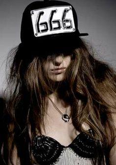 Women's Fashion. Occult, Gothic.Satanic Fashion.