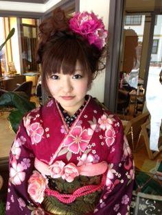 成人式のアップスタイルの画像(1)   その他の美容室 髪結ぃやのヘアスタイル   Rasysa(らしさ)