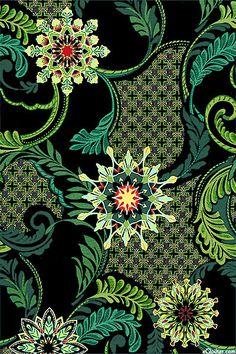 Star of Hope - Garden Snowflake - Black