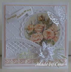 Voorbeeldkaart - Just a card - Category: Scrap Cards - Hobbyjournaal your hobby website