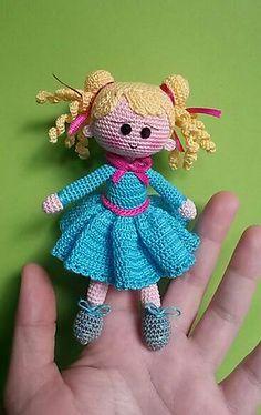 Ravelry: Finger Puppet Klarissa pattern by Maria Müller