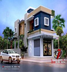Stylish Modern House Plans For Your Modern House Building Elevation, House Elevation, Decorating With Pictures, Decoration Pictures, Architectural Engineering, Modern House Plans, House 2, Building Design, Exterior Design