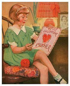 En casa de Tía Gretel: Tarjetas de época