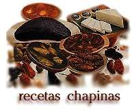 Guatemalan Recipes including Chirmol, Guacamol, Tamales, Pepian, Tortillas, Rellenitos, Chancletas de Guisquil.  Also beverages like Arroz con leche, Horchata, Rosa de Jamaica and Atol de Elote.  Enjoy - Buen Provecho!