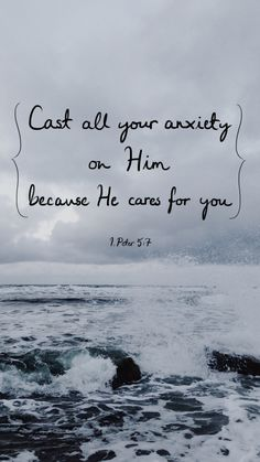 God is always there for us, and He is always doing what is best for us. He never gives us more than...