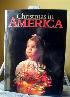 Vintage Book, Christmas in America, From Thanksgiving to Epiphany, 1988, Hardcover, Coffee Table Book, Photojournalism, Holiday Traditions by BrindleDogVintage on Etsy