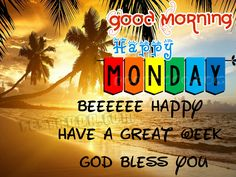 Good Morning Monday Images For Facebook