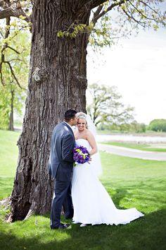 bride and groom pose  De & Casey – Rush Creek Golf Course Wedding » Nikki Tran Photography