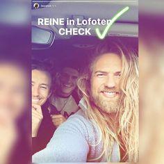 Lasse and friends. Norwegian Men, Raining Men, Lofoten, Norway, Vikings, Hot Guys, Crushes, Handsome, Long Hair Styles