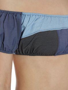Leandra patchwork denim bikini  | Lisa Marie Fernandez | MATCHESFASHION.COM US