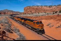 7259 BNSF Railway GE ES44DC at Prewitt, New Mexico by Drew Mitchem