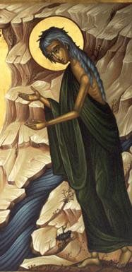"""""""Dear brothers and sisters, be patient as you wait for the Lord's return. Consider the farmers who patiently wait for the rains in the fall and in the spring. They eagerly look for the valuable har… Religious Images, Religious Icons, Religious Art, Orthodox Catholic, Orthodox Christianity, St Mary Of Egypt, Christian Religions, Byzantine Icons, John The Baptist"""