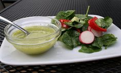 The Healthy Happy Wife: Lemon Basil Dressing (Dairy, Gluten and Sugar Free)
