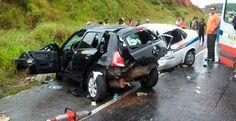 Esplanada - Sobe para 8 o número de mortos em acidente na BR-101